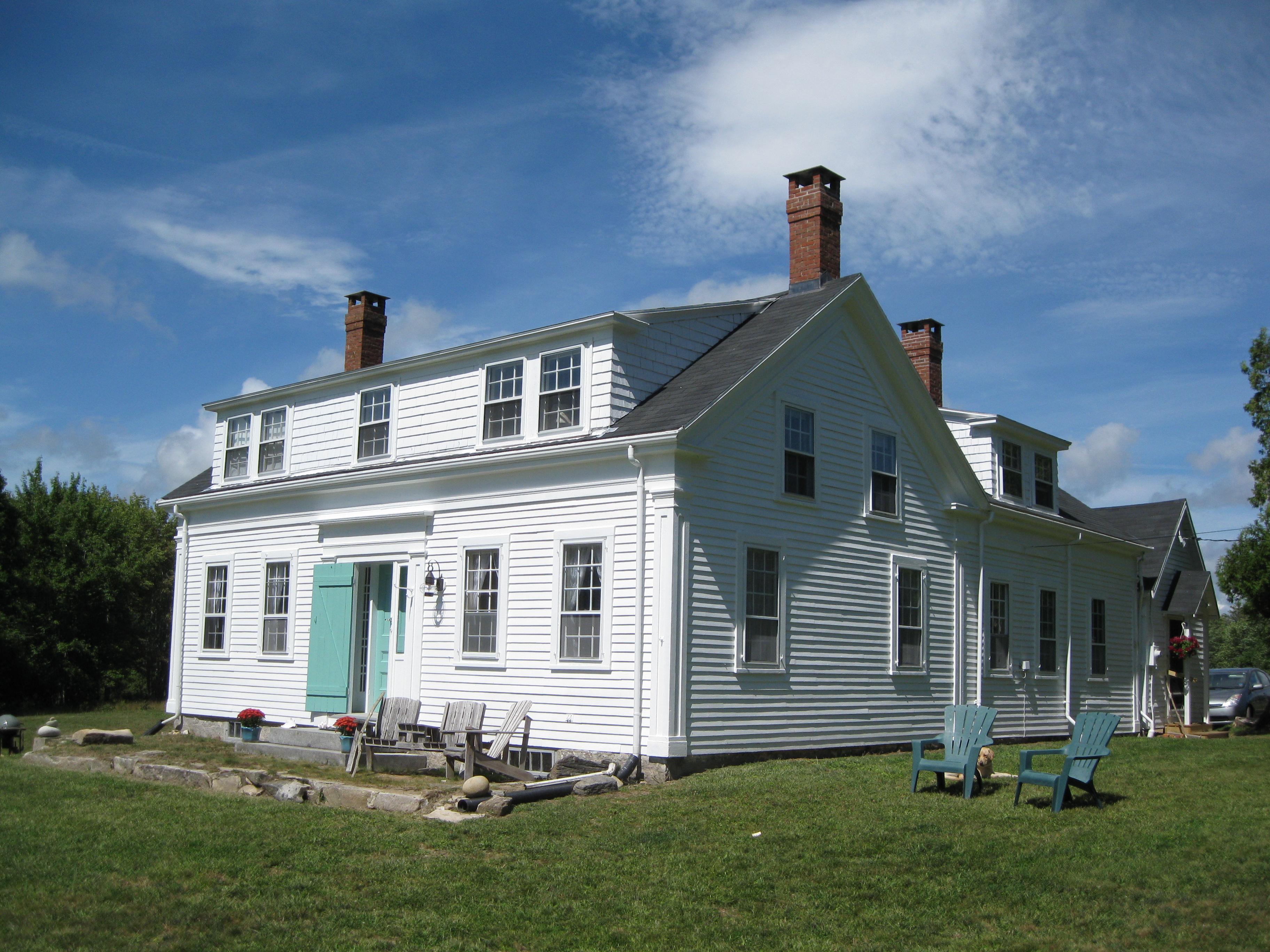 The House – Tarbox Cottage, Westport Island, Maine