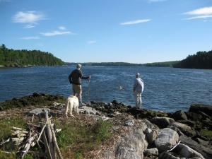 Clough Point, Westport Island - Maine by Foot |Westport Island Maine